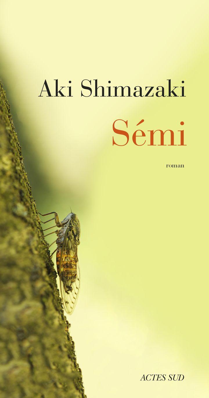 "Couverture de ""Sémi"", d'Aki Shimazaki, mai 2021 (ACTES SUD)"