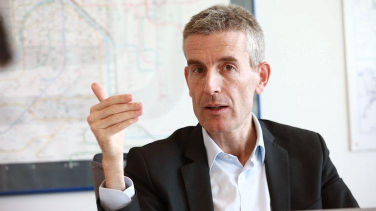 Alain Krakovitch, directeur général du Transilien, le 16 mars 2018 à Paris. (OLIVIER ARANDEL / MAXPPP)