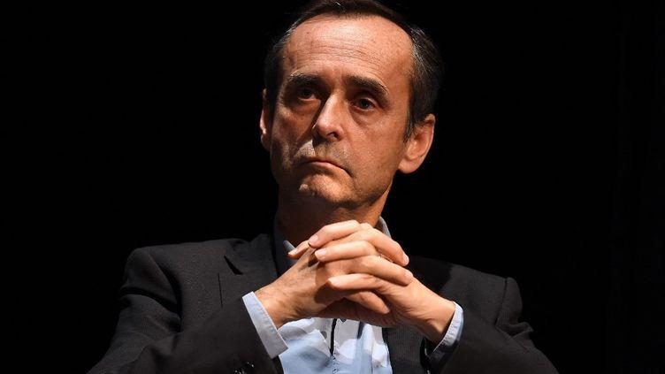 Robert Ménard, à Béziers(Hérault), le 9 décembre 2015. (PASCAL GUYOT / AFP)