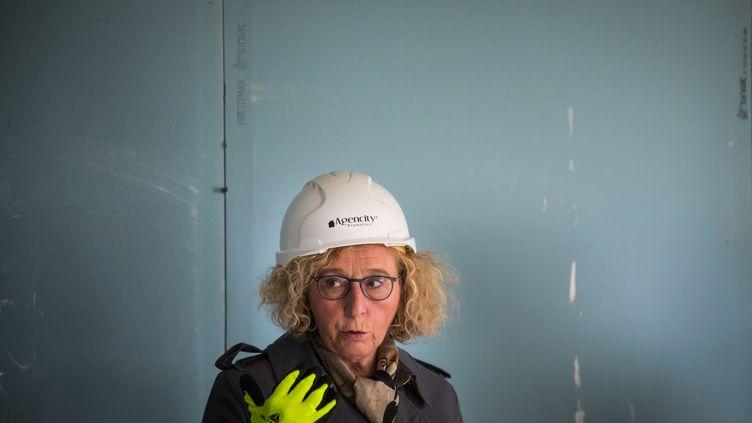 Muriel Penicaud en mai 2020 près de Paris. (CHRISTOPHE PETIT TESSON / POOL / EPA POOL)
