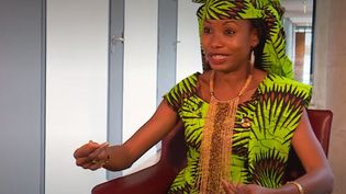 Hindou O. Ibrahim, militante écologiste issue d'un peuple autochtone (Franceinfo)