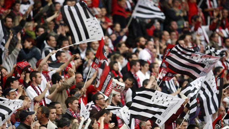 Drapeaux bretons au Stade de France (2009) (XAVIER CAILHOL / MAXPPP TEAMSHOOT)