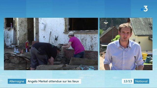 Inondations en Allemagne : Angela Merkel se rend à Schuld dimanche 18 juillet