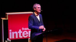 Fabrice Drouelle, journaliste à France Inter. (CHRISTOPHE ABRAMOWITZ / SERVICE PHOTOS)