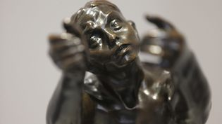 """""""L""""implorante"""" de Camille Claude présentée au musée qui est consacré à Nogent-sur-Seine (MAXPPP)"""