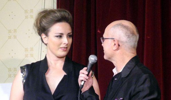 La chanteuse Sinne Eeg et François Lacharme  (Annie Yanbékian)