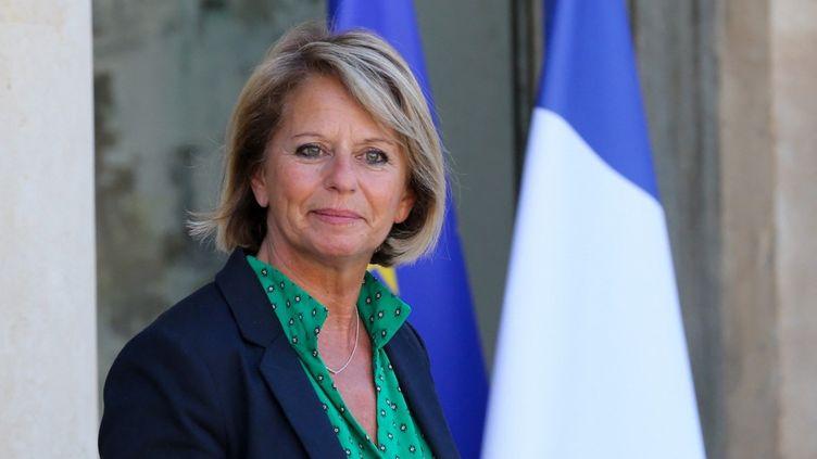 La ministredéléguée chargée de l'Autonomie, Brigitte Bourguignon, à l'Elysée, le 7 juillet 2020. (THIERRY THOREL / NURPHOTO / AFP)
