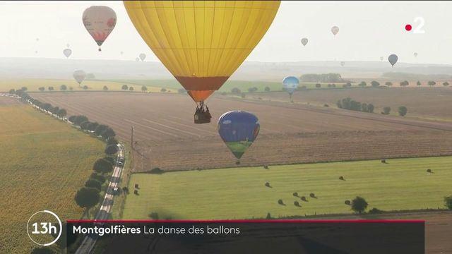 Meurthe-et-Moselle : danse des montgolfières pour le Mondial Air Ballons