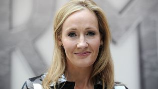 L'autrice J.K. Rowling en 2011. (CARL COURT / AFP)