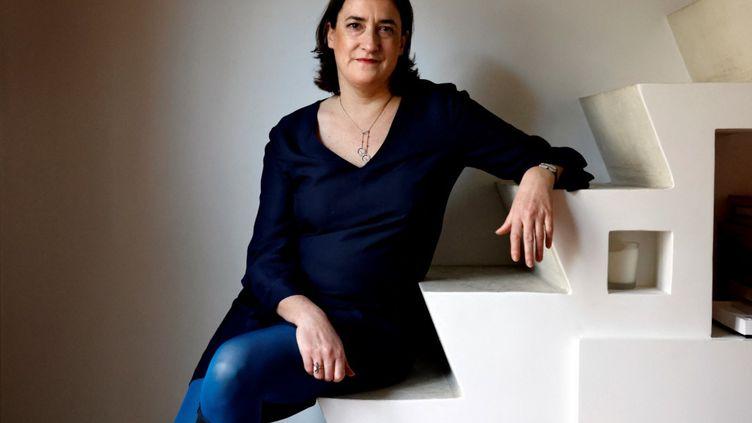 Delphine d'Amarzità la tête des Bourses de Paris et Amsterdam. (AFP)