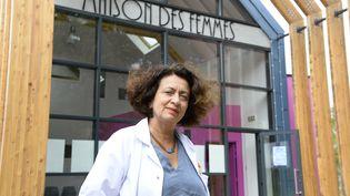 Docteure Ghada Hatem, gynécologue, fondatrice et médecin chef de la Maison des Femmes de Saint-Denis (Seine-Saint-Denis). (BERTRAND GUAY / AFP)