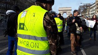 """Manifestation de """"gilets jaunes"""" à Paris, le 9 février 2019. (BENJAMIN ILLY / FRANCE-INFO)"""