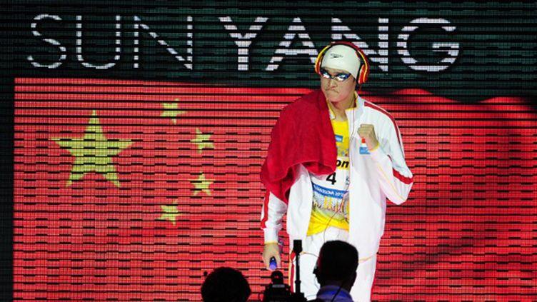 Le Chinois Sun Yang (JOSEP LAGO / AFP)