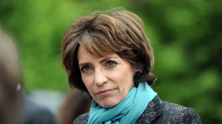 La ministre de la Santé Marisol Touraine, le 18 avril 2014 à l'hôpital Herriot de Lyon (Rhône). (  MAXPPP)