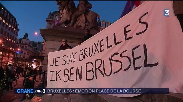 Bruxelles : émotion