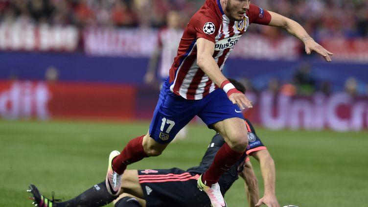 Saul Niguez, unique buteur du match (GERARD JULIEN / AFP)