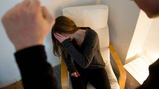 Selon une agence de l'UE,62 millions de femmes ont été victimes de violences depuis leur 15 ans dans les 28 pays de l'Union. (INGA KJER / DPA / AFP)