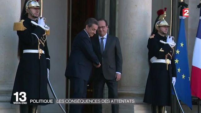 Attentats de Paris : regain de popularité pour François Hollande