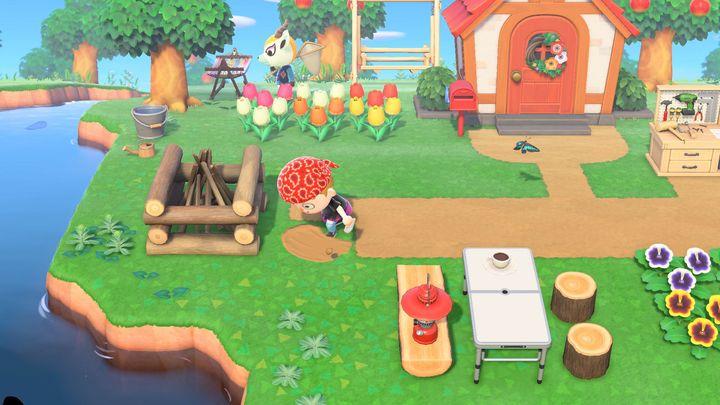 """Dans """"Animal Crossing : New Horizons"""", chaque joueur a la possibilité d'aménager son île comme il le souhaite. (NINTENDO)"""