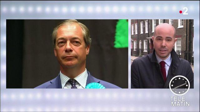 Européennes : victoire du Parti du Brexit au Royaume-Uni