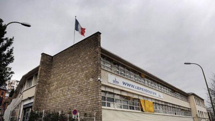 Vue de l'ancien siège du Front National implantée à Saint Cloud, dans les Hauts-de-Seine. (AFP - Martine Bureau MAR)