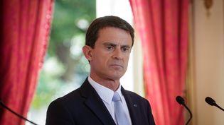 Manuel Valls dansson bureau à Paris le 29 septembre 2015 (  MAXPPP)