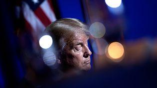 Donald Trump, le 14 septembre 2020 dans l'Arizona. (BRENDAN SMIALOWSKI / AFP)