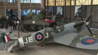 Le D-Day Wings Museum possède des avions légendaires (M-P.Puaud / France Télévisions)