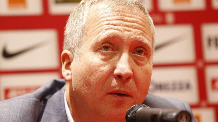 Le vice-président de l'AS Monaco, Vadim Vasilyev. (VALERY HACHE / AFP)