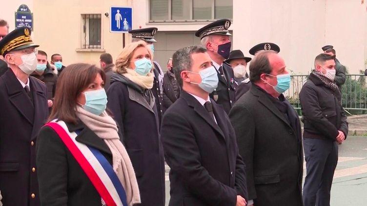 Il y a six ans, le 7 janvier 2015, les attentats de Paris et Saint-Denisontfrappé la France.Une cérémonie de commémoration s'est tenue dans l'intimité, à la demande des proches, mercredi 7 janvier 2021. (France 3)