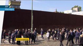 Le mur de Berlin. (franceinfo)