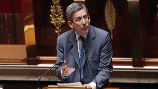 Charles de Courson, député UDI de la Marne, s'exprime devant l'Assemblée,le 17 juillet 2014 à Paris. (FRANCOIS GUILLOT / AFP)