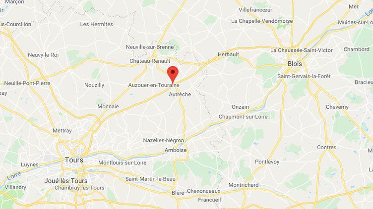 Deux mineurs ont été contrôlés à 190 km/h à bord d'une voiture volée. (GOOGLE MAPS)
