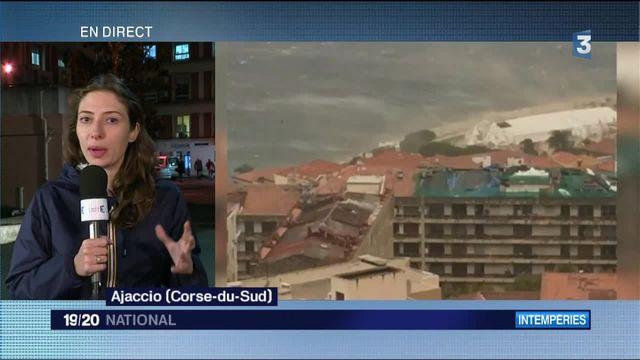 Intempéries à Ajaccio : 28 blessés dans l'effondrement d'un chapiteau