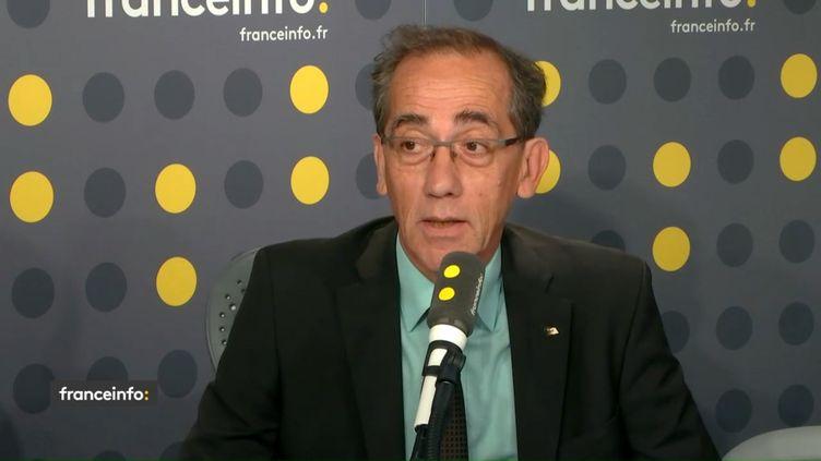 Pierre Audin sur franceinfo, vendredi 14 septembre 2018. (FRANCEINFO / RADIO FRANCE)