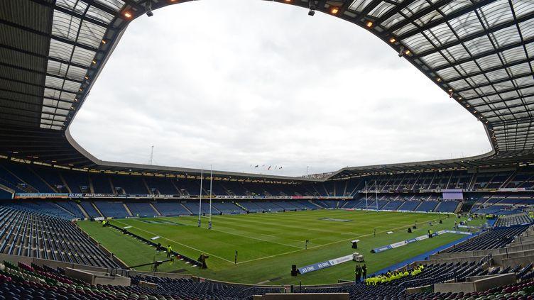 Le stade Murrayfield à Edimbourg.  (RICHARD LEE / BACKPAGE IMAGES LTD)