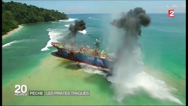 Les pirates de la pêche traqués par satellite