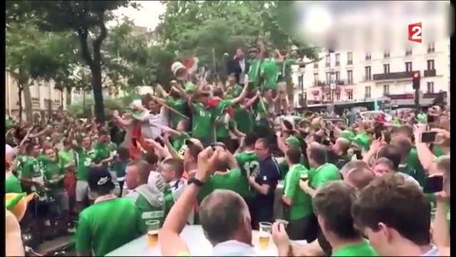 Euro : la coupe des supporters pour l'Irlande