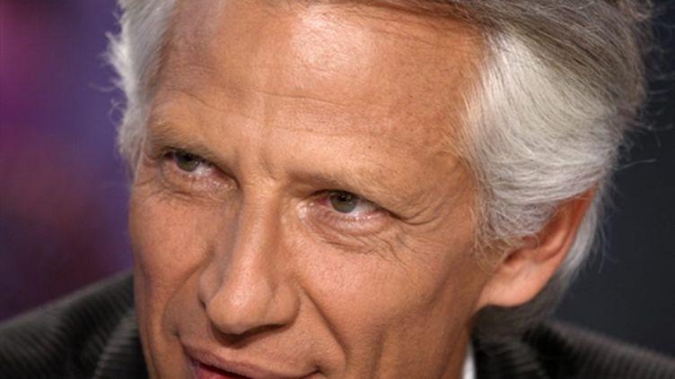 Dominique de Villepin, vendredi 29 janvier, sur Canal Plus. (AFP)