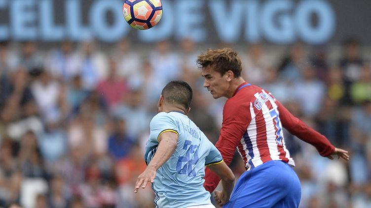 Le buteur de l'Atletico Madrid Antoine Griezmann (MIGUEL RIOPA / AFP)