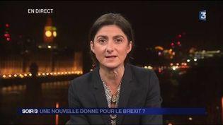Stéphanie Desjars, envoyée spéciale à Londres. (FRANCE 3)