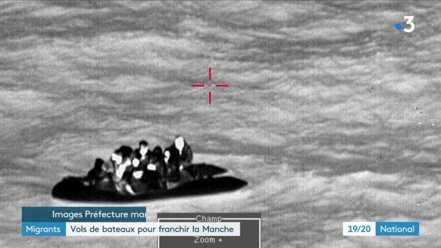 Migrants : des vols de bateaux pour franchir la Manche