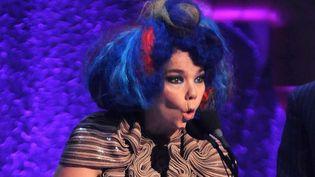 La chanteuse Björk à New York en 2012.  (INB/WENN.COM/SIPA)