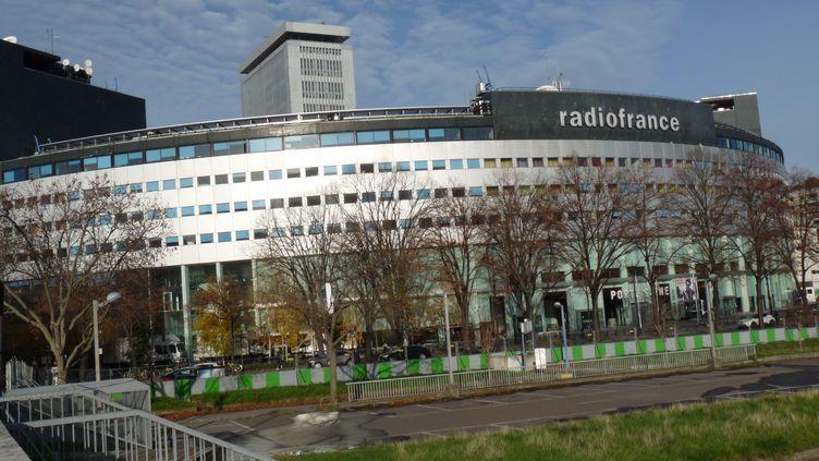 La maison de la radio à Paris dans le 16e arrondissement en décembre 2019. (VINCENT PILLET / FRANCE-BLEU DRÔME-ARDÈCHE)
