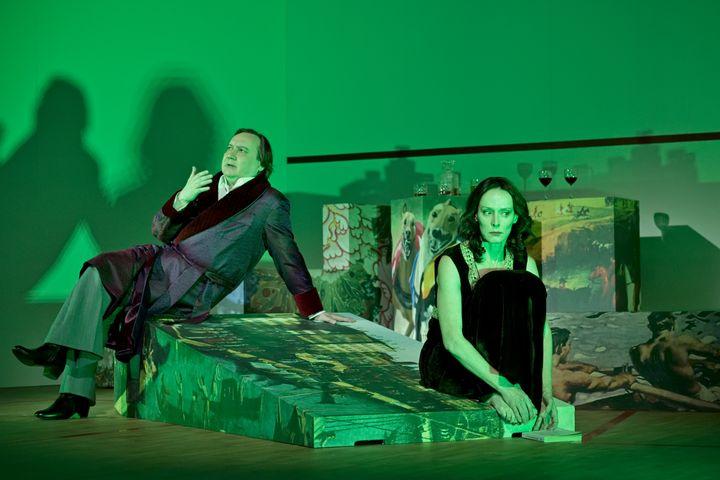 """""""Trahisons"""", mis en scène et avec Michel Fau (Stéphane Brion)"""