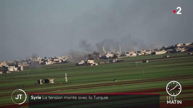 Syrie : la tension monte dans la province d'Idlib