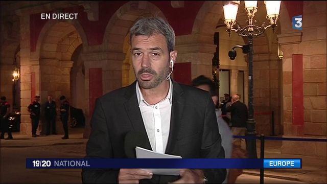 Catalogne : le discours très attendu de Carles Puigdemont