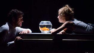 """Marc Lavoine et Géraldine Martineau dans """"Le poisson belge"""" de Léonore Confino  (Christophe Vootz)"""