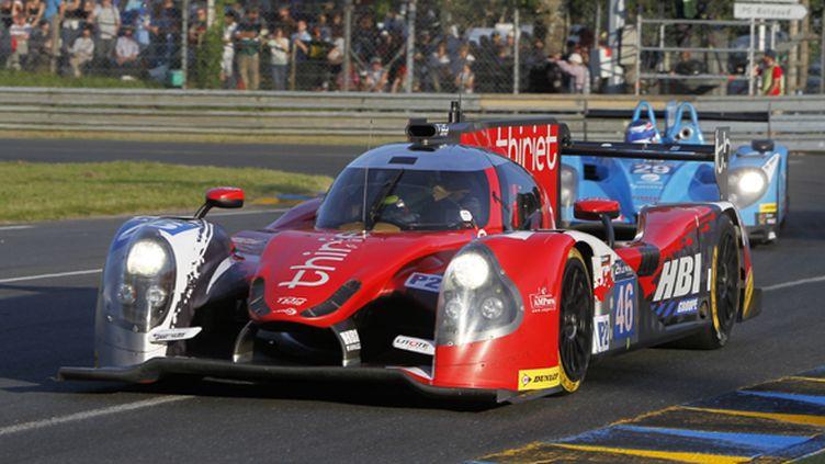 La Ligier JS P2 de Thiriet by TDS Racing. Tristan Gommendy est au volant. (?VIMAGES/FABRE / V-IMAGES.COM)