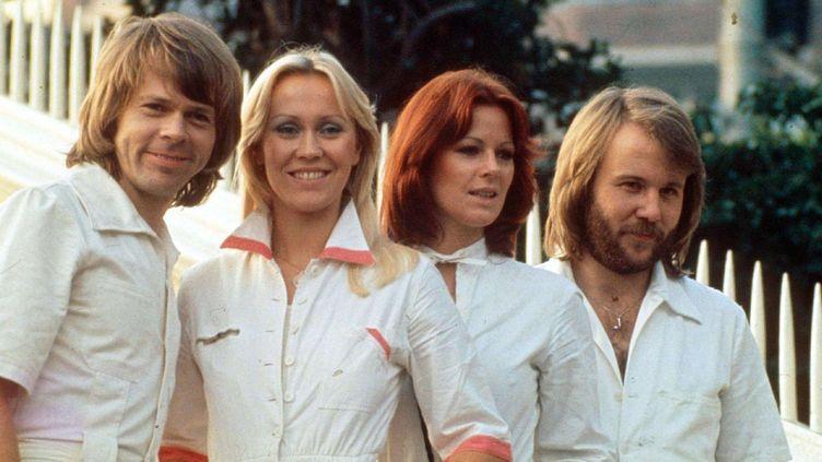 ABBA en 1976  (Charles Knight / Rex Features / REX / SIPA)